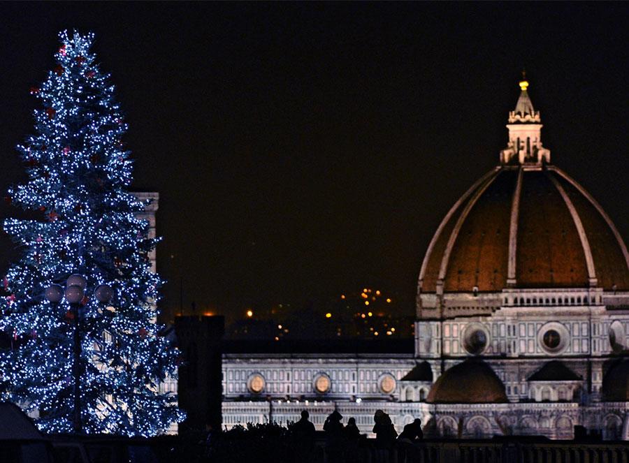 Periodo natalizio a Firenze